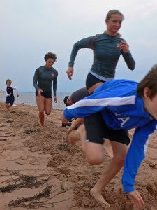 Spartan Track club runs Covehead dunes