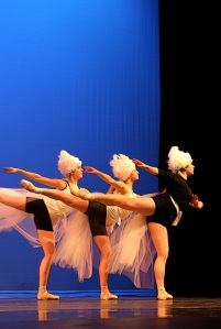 three arabesques