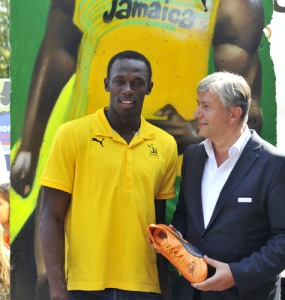 bolt with the mayor