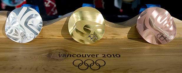 2010 medals