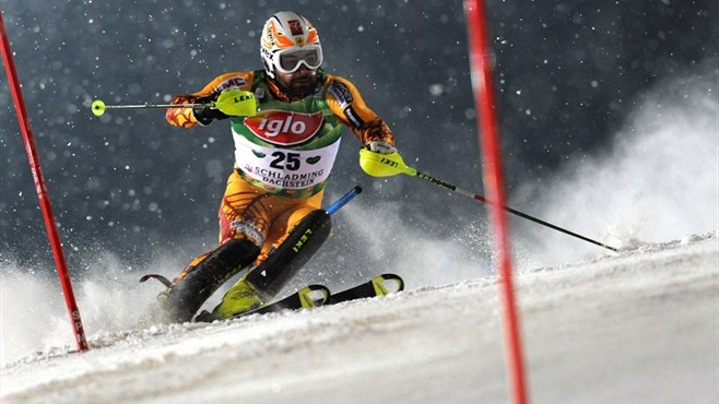 Julien Cousineau, an Olympian after a spectacular 5th in Schladming last weekend